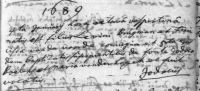 16890105 Doop Burgman, Jodocus