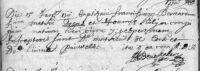 17110115 Doop Doens, Franciscus Bernardus