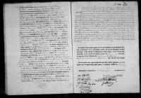 18270201 Huwelijksakte Becude, Rutger