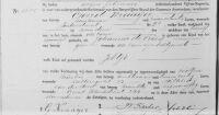 18950207 Geboorteakte Kraaijer, Jeltje