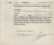 19570511 Overlijdensakte Rom, Jan Willem