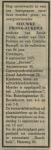 19750911 Overlijden Aukema, Sieuwke (fam.advertentie)