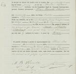 18770127 Geboorteakte Wouda, Rinze