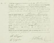 19110211 Overlijdensakte Wouda, Menze