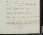 18511204 Overlijdensakte Peet van der, Krijn