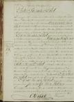 18191220 Overlijdensakte Peet van der, Pieter (1756)