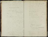 18460109 Huwelijksakte Peet van der, Bastiaan