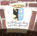 Hardegarijp, Dorpskerk 1711 mr Johannis Jans van der Snoek