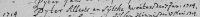 17140107 Huwelijk (Geref) Pyter Alberts (te Tietjerk)