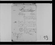 18210507 Huwelijksakte Wouda, Beerent Sipkes (bijl.1)