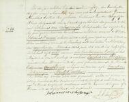 18581119 Overlijdensakte Scheppingen van, Jacobus