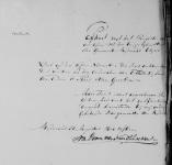 18150830 Huwelijksakte Janmaat, Gijsbert (bijl 2)