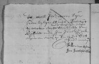 17240222 Huwelijk Kippersluijs, Antonij Gijsberse (p2)