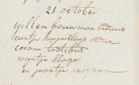 17941121 Huwelijk Bouwman, Willem (kerk)