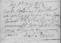 17640502 Begrafenis Goedhart, Marija